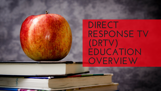 Direct Response TV (DRTV) Education Overview