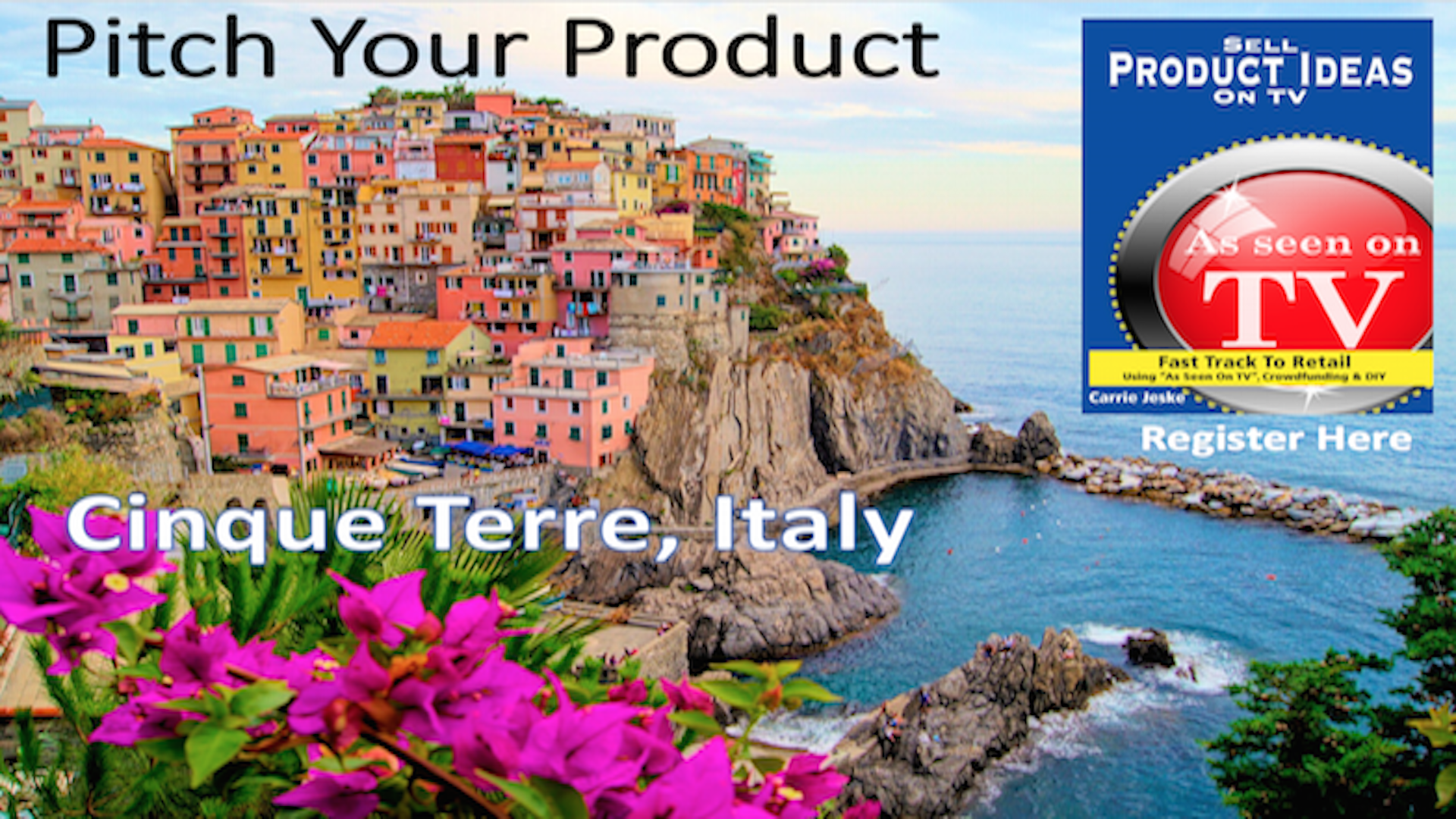 Cinque Terre Italy Pitch Product Idea Carrie Jeske