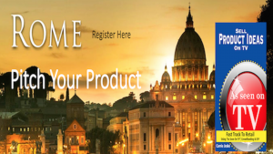 Rome Italy Pitch Your Product to Carrie Jeske
